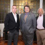 Bayard Boiteux,Claudio Castro e Sebastião Marinho