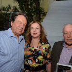 Breno Neves, Maria Pinheiro Guimarães e Reinaldo Paes Barreto