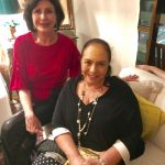 Carmem Silvia Peltier e Mirna Bandeira de Mello