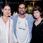 Clara Reis, Filipe Raposo e Mila Benassi