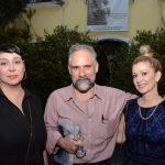 Claudia Ahinsa, Alexei Bueno e Branca Paixão