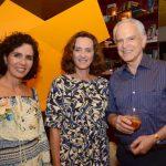 Claudia Haddad, Verônica Almeida Braga e Ricardo Stambowsky