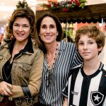 Claudia Jimenez, Carol Abitbol e Nicholas Abitbol