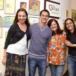 Claudia Rebecchi, Marcelo Caldas, Oriana Hill e Karinna Camara