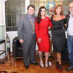 Claudio e Bruna Castro e Kátia levanon, Gidi Levanon