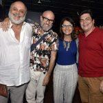 Mario Borgesd, Gilberto Gavronski, Clarice Derzié Luz e Fernando Philbert