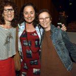 Rose Verçosa, Alessandra Reis e Marcia Rubim