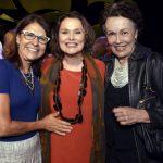 Clarice Derzié Luz, Louise Cardoso e Analu Prestes