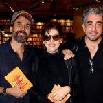 Eriberto Leão, Barbara Paes e Michel Melamed