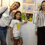 Flavia Santoro e sua filha Laura Caetano e Patrícia Boacayuva