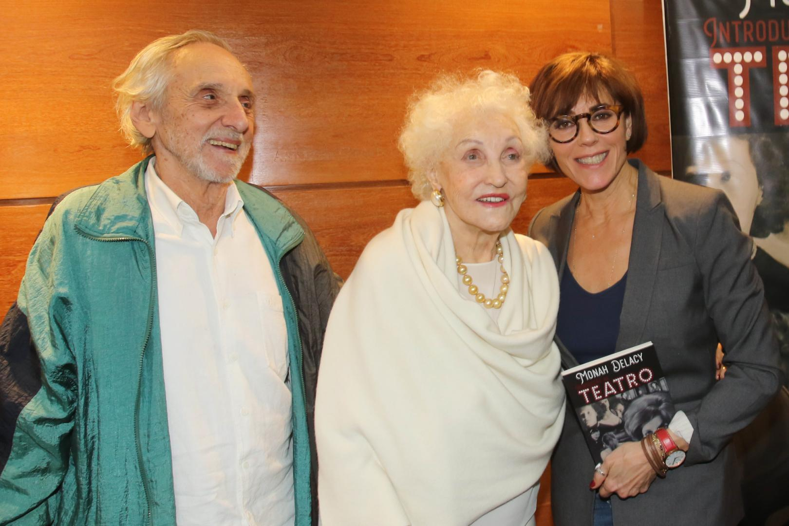 Prestes a completar 90 anos, Monah Delacy lança livro no Teatro Oi Casa Grande