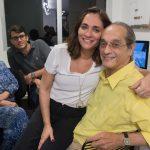 Gabi e Luiz Eduardo Indio da Costa