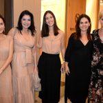 Joana Nolasco, Gilza velloso, Cecilia Ligiero, Geisa Rabelo e Claudia Sehbe