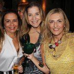 Joyce Medeiros, Adriana Baltazar e Teresa Simões