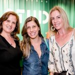 Katia Danemberg, Ana Gabriela Affonso e Claudio Figueiro