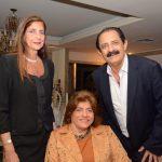 Laís Cosac, Silvia Cosac e Marcelo Daher
