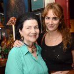 Laís Gouthier e sua neta Alexia Niedzielski