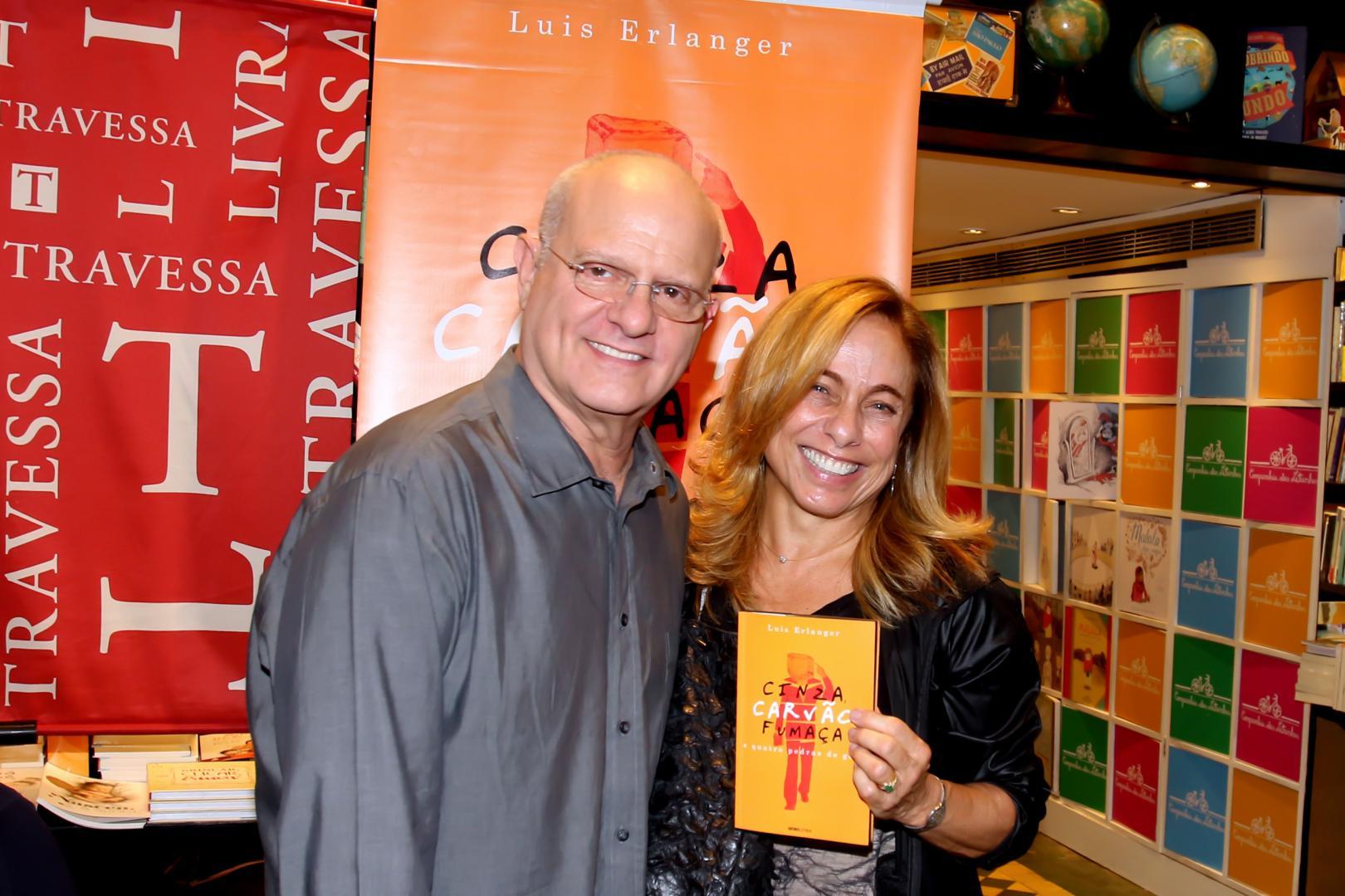 Famosos prestigiam lançamento do novo romance de Luis Erlanger