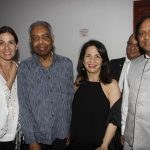 Flora e Gilberto Gil, Lígia Teixeira e o embaixador da Índia Ashok Das