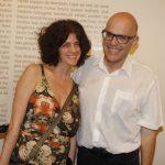 Os artistas plastico Miriam Pech e Frederico Dalton