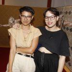 Mariana Leico e Ingrid Kita