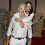 O casal de artistas plastico Simon e Marcia Clayton