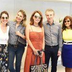 Manu Muller, Marcia Muller, Patricia Mayer, Aurelio Nogueira e Angela Falcão