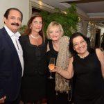 Marcelo Daher, Laís Cosac, Vera Valeska e Raquel Rezende