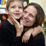 Mariano e sua mãe Alexandra di Calafiori