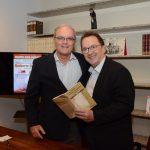 Nilson Mello e Fernando Boigues (Pres do SindHRIO)