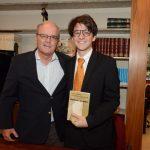 Nilson e seu filho João Mello