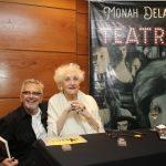 Osvaldo Arcas e Monah Delacy
