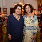 Olenka Saraiva e Claudia Haddad
