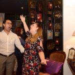 Os cantores Frederico de Assis e Fernanda Scheleder
