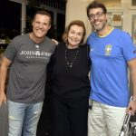 Renato Rabello, Maria Luiza Soares de Souza e Claudio Lins