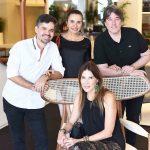 Ricardo Melo, Vera Rebello, Guilherme Osborne e Claudia Souza Santos