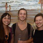 Roberta Santiago, Louri Josset e Gabriela Dias