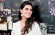 Roberta do Rio comemora o lançamento da coleção de joias
