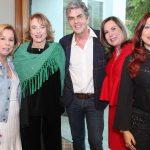 Viviane Cohen, Regina Portugal, Manoel Thomaz, Dirce Motta e Cláudia Rhamnusia