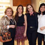 Elce Marques, Ana Paula Joffe, Michelle Guarda e Ana Lucia Antunes