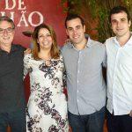 Salomao Crosman Aline Barros Bruno Crosman e Paulo Crosman