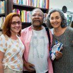 Ana Claudia Mello, Martinho da Vila e Cristina Warth