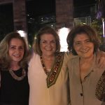 Anna Ramalho com Heloisa Daddario e Elda Priami
