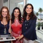Bebel Schmidt, Carol Filgueiras e Beth Accurso