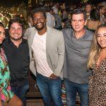 Bruna Panza, Ricardo Cal, o ator Val Perré , Alex da Hold Foods, Gis de Oliveira