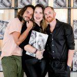 Brunno Rangel, Karen Grimaldi e Marcelo Feitosa