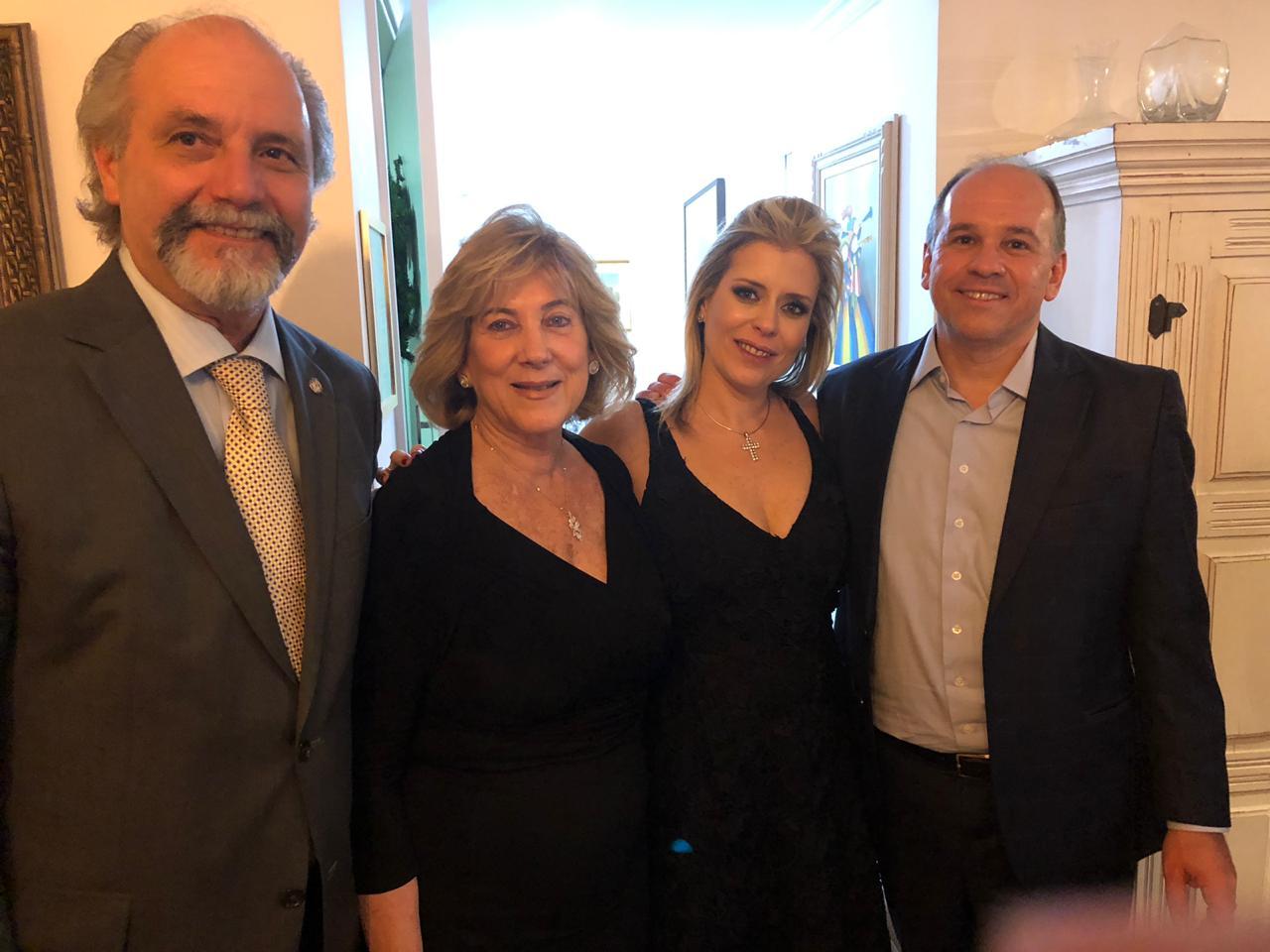 Novo Secretário de Justiça de São Paulo é homenageado com jantar
