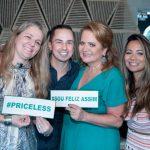 Claudia Jannuzzi, Yuri Antigo, Renata Fraga e Marcia Romão