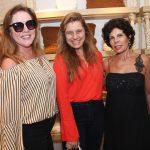 Claudia Rodrigues, Ana Cristina Carvalho e Leilane Castanheiras