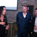Elaine de Oliveira, Erich Buschle e Breno Pasquelete
